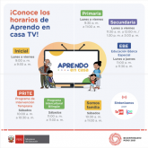 APRENDO EN CASA TV DESDE 19 ABRIL